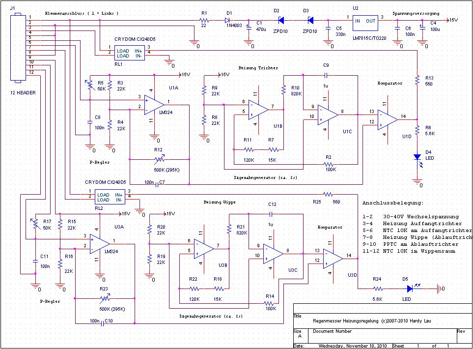 Tolle Elektrischer Heizungsregler Schaltplan Bilder - Elektrische ...